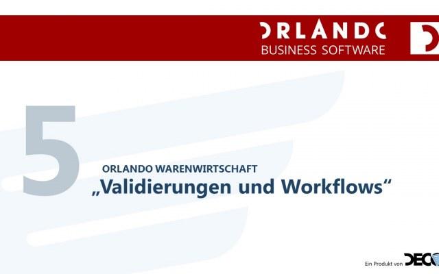 Validierung und Workflows Neu 17